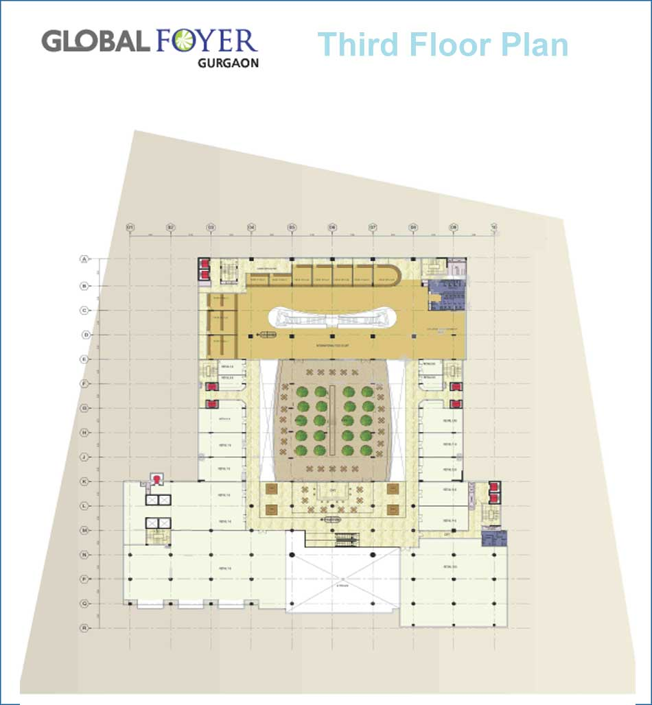 Global Foyer Floor Plan : Commercial office space for lease global foyer golf course