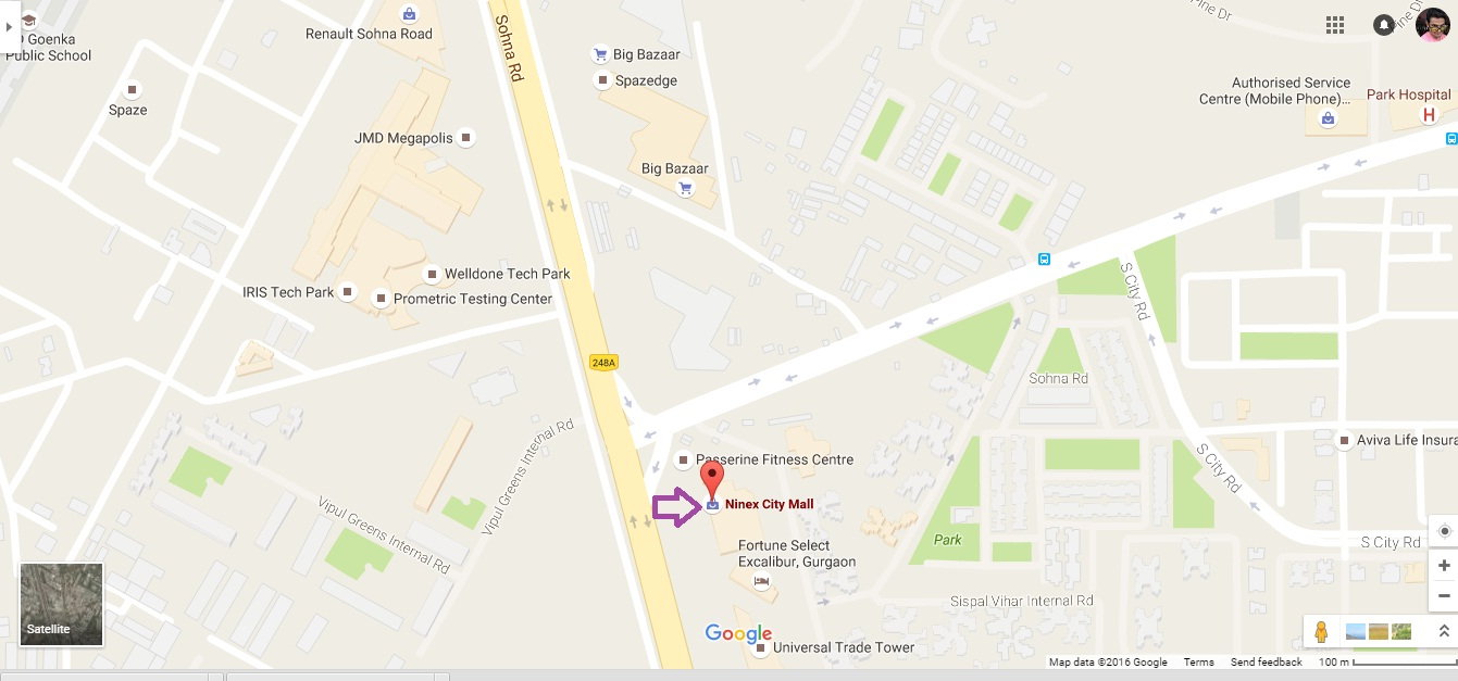 Retail Shop For Sale Ninex City Mall Sohna Road