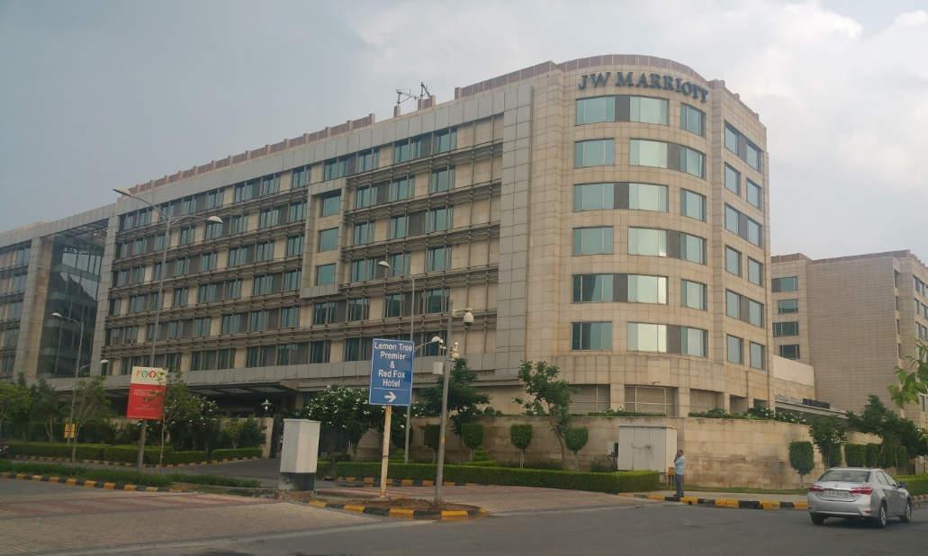 JW Marriott hotel in Aerocity Delhi