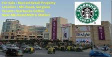 Pre Rented Fully Furnished 2384 Sq.Ft. Retail Shop Available For Sale On M.G. Road