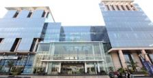 Ground Floor Retail Cum Commercial Office Space Available For Lease In Global Foyer, Golf Course Road, Gurgaon.
