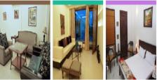 Independent Built Up 200 Sq.Ft. 2 BHK Furnished Serviced Apartments Rent Hauz Khas South Delhi