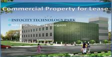 Commercial Office Space for Lease  Info City, Sector -34, Gurgaon.