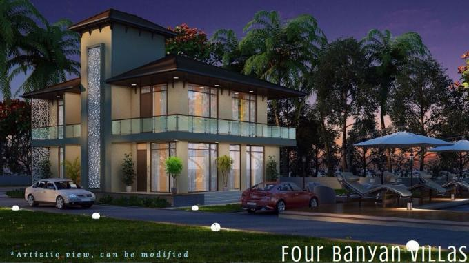 The Calissa 5200 Sq.Ft. 4 BHK Furnished Independent Villa Sale Calangute Goa