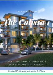 The Calissa & The Calissa One 2 Sq.Ft. Two Furnished Apartment Sale Calangute Goa