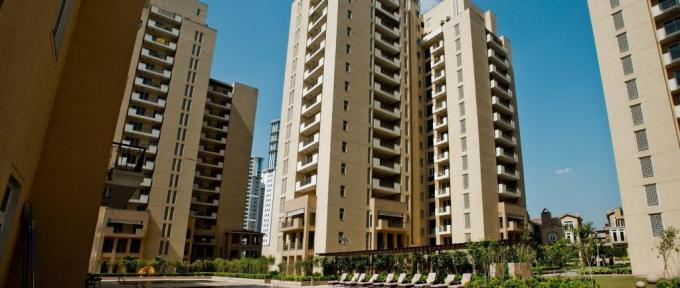 Emmar Palm Spring 3800 Sq.Ft. 4 Bhk Semi Furnished Apartment Rent Golf Course Road Gurgaon