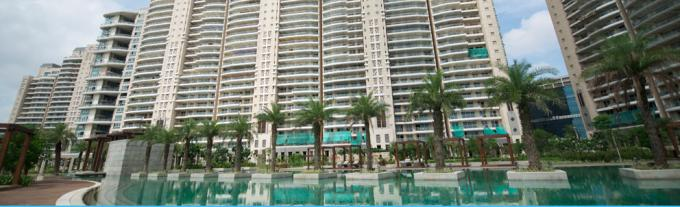 DLF Magnolias 6400 Sq.Ft. 4 Bhk Semi Furnished Apartment Rent Golf Course Road Gurgaon