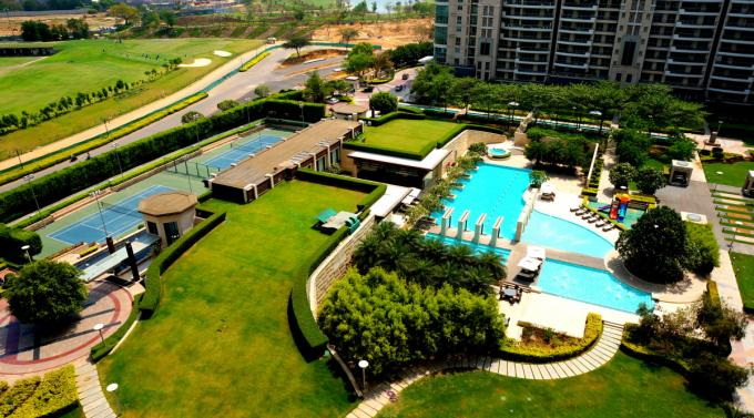 DLF Aralias 5600 Sq.Ft. 4 Bhk Semi Furnished Apartment Rent Golf Course Road Gurgaon