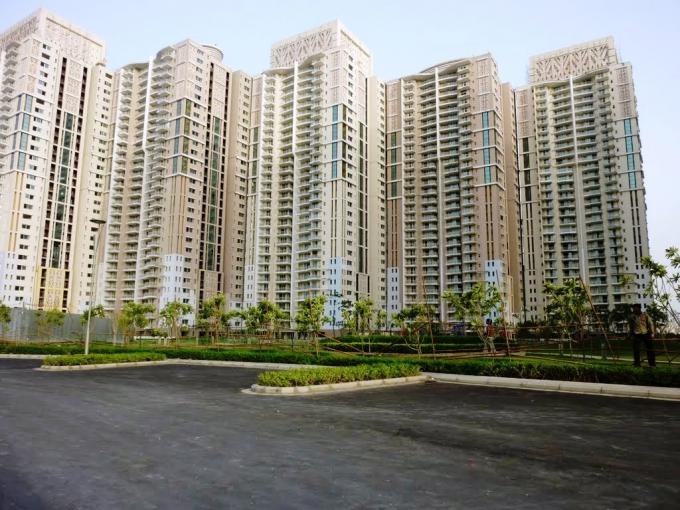 DLF Park Place 2282 Sq.Ft. 3 Bhk Semi Furnished Apartment Rent Golf Course Road Gurgaon