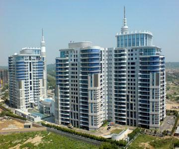 DLF Pinnacle 3868 Sq.Ft. 4 Bhk Semi Furnished Apartment Rent Golf Course Road Gurgaon