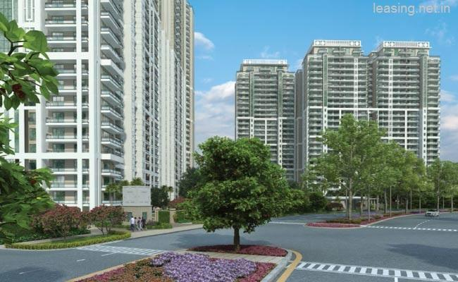 DLF CREST 2686 Sq.Ft. 3 Bhk Semi Furnished Apartment Rent Golf Course Road Gurgaon