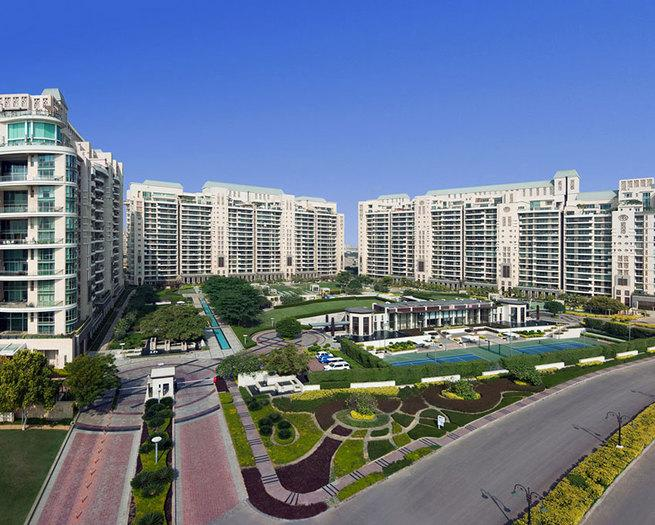 DLF CREST 3115 Sq.Ft. 4 Bhk Semi Furnished Apartment Rent Golf Course Road Gurgaon