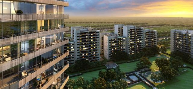 Ireo Skyon 3000 Sq.Ft. 4BHk + Servent Room Semi Furnished Apartment Lease Sector 60 Gurgaon