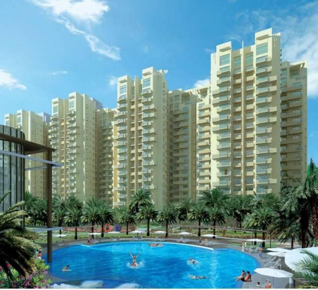 Palm Drive 1288 Sq.Ft.  Semi Furnished Apartment Rent Golf Course Extension Road Gurgaon