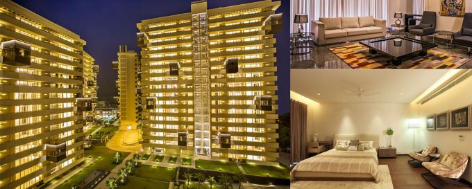 Salcon The Verandas 4495 Sq.Ft. 4 Semi Furnished Apartment Rent Sector 54 Gurgaon
