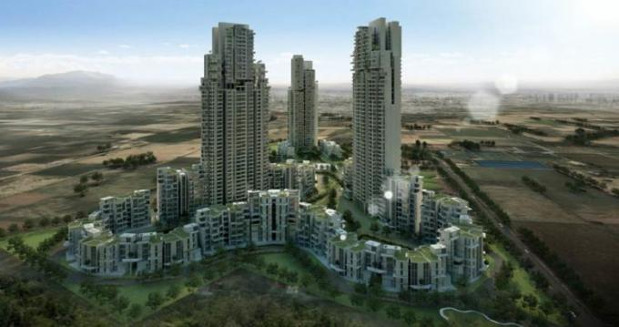 Ireo Victory Valley 2850 Sq.Ft. 4 Semi Furnished Apartment Rent Sector 67 Gurgaon